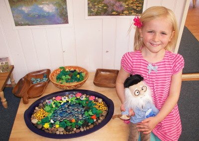 Beads and puppets