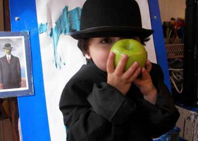Kid in a Bowler Hat